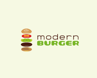 Modern Burger Logo Designs