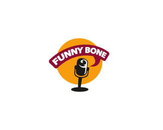 Funny Bone Logo Design
