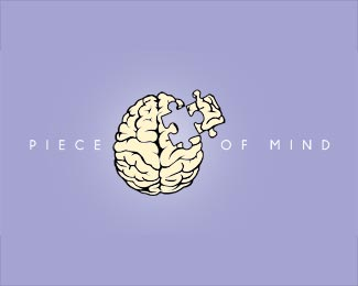 Piece of Mind Logo Design