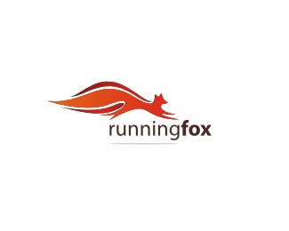 Running Fox Logo Designs