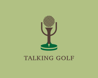 Talking Golf Logo Design