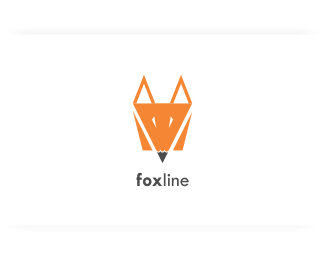Fox Line Logo Design