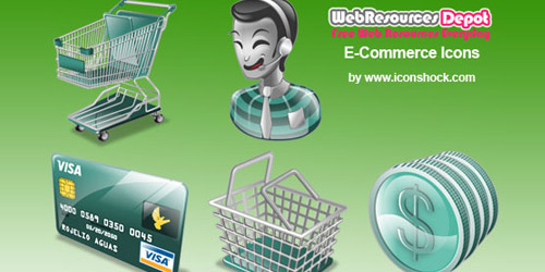Free E-Commerce Icons Collection