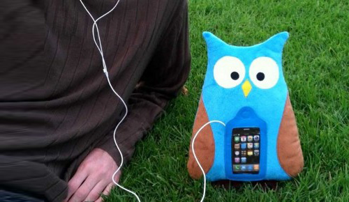 Owl iPhone Pillow