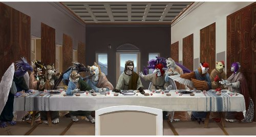 The Furry Last Supper