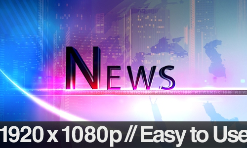 Breaking News: 20 After Effects News Templates