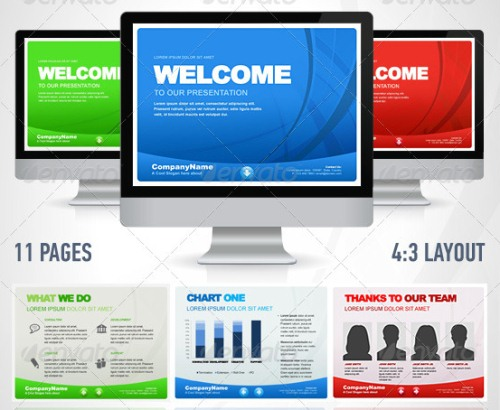 SimpleWay Business PowerPoint Presentation Templates