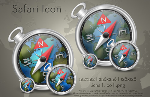 Free Safari Icon Sets to Download For Your Desktop