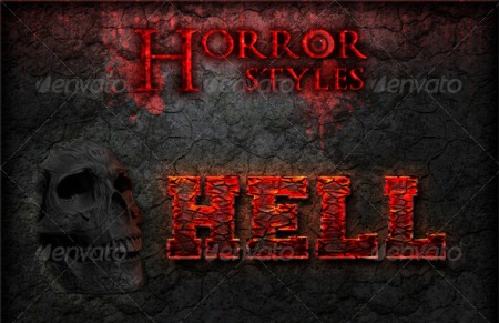 Horror Photoshop Styles