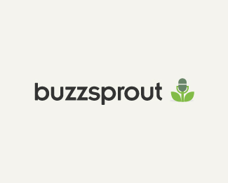 Buzz Sprout Logo Design