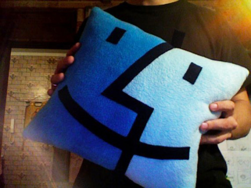 Mac Finder Icon Pillow