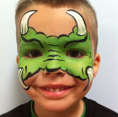 25 Artistic Halloween Face Painting Ideas for Kids - Best Halloween Face Painting Ideas