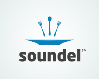 Soundel Logo Design