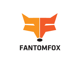 Fantom Fox Logo Design