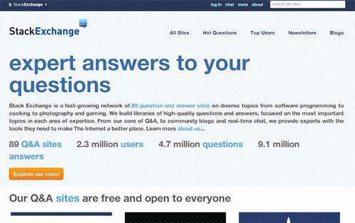 Stack Exchange - Free, Community-Powered Q&A