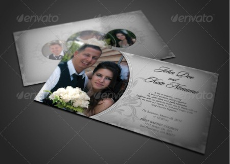 Wedding Invitation Template 20 Cards