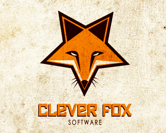 Clever Fox Software Logo Design