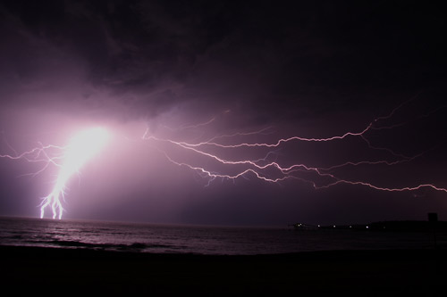 Shellharbour: Lightening