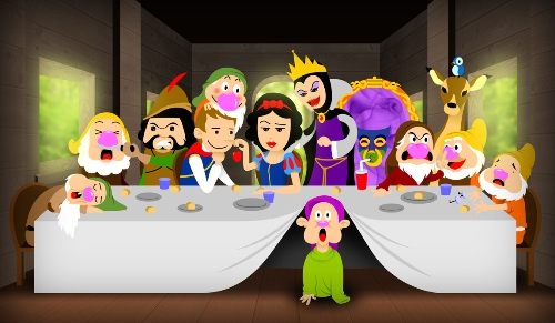 Snow White - Last Supper