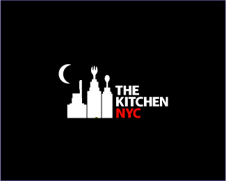 The Kitchen NYC Logo Design