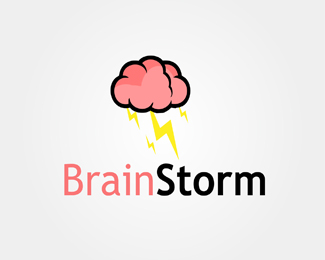 Brain Storm Logo Design