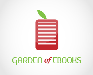 Garden of Ebooks Logo Design