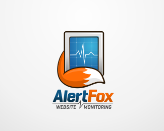 Alert FOX Logo Design