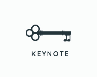 Key Note Logo Design