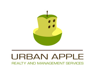 Urban Apple Logo Design