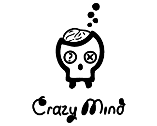 Crazy Mind Logo Design
