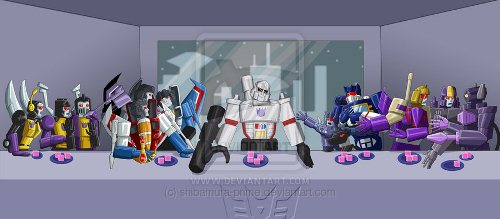 Megatron's Last Supper