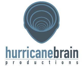 Hurricane Brain Logo Design
