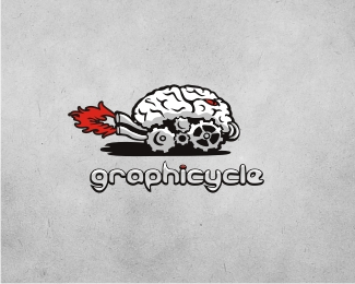30 Nervy Examples of Brain Logo Design for Inspiration