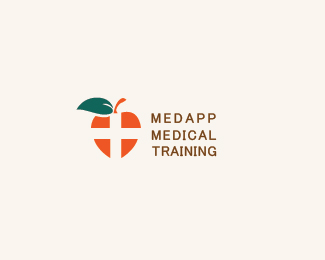 MedApp Apple Logo Designs