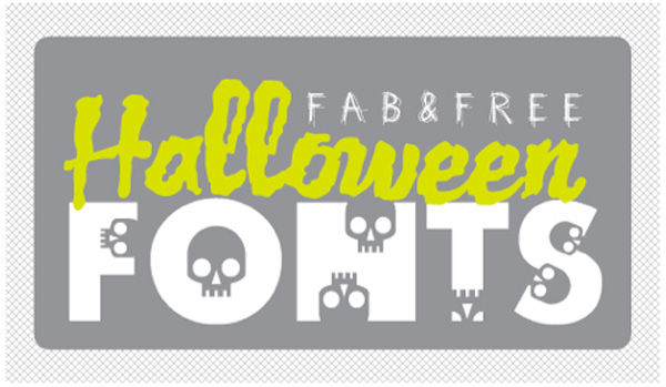 Free Halloween Fonts from Dafont