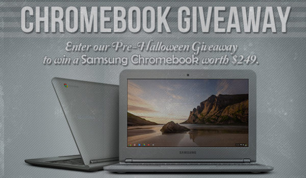 Giveaway: Win a Google-Samsung Chromebook or $249 Cash