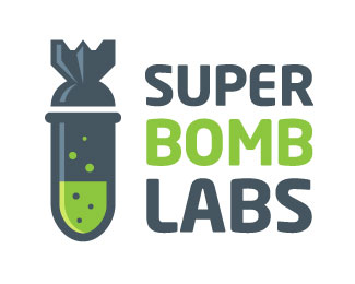 Super Bomb Labs Logo Design