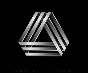 Marck Illusion Logo Design