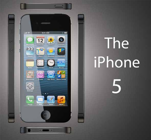 iPhone 5 3D Models