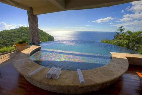 Infinity Pool of Jade Mountain Resort, St. Lucia