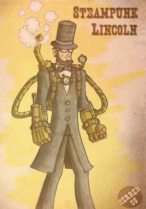 Steampunk Lincoln