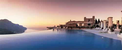 Infinity Pool Design Ideas - Amalfi Coast, Italy
