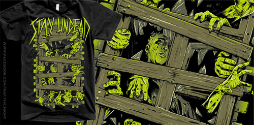 Halloween T-Shirt Designs: Stay Undead