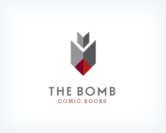 The Bomb Comic Books Logo Design