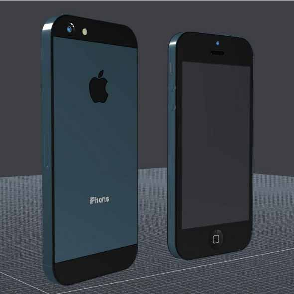 iPhone 5 CAD Model