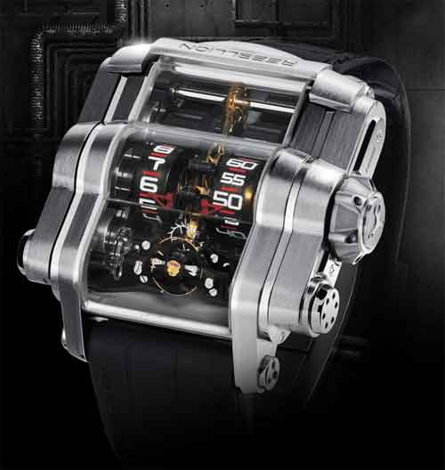 T-1000 Time Machine – Rebellion Timepieces