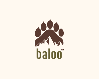 Baloo Logo Design