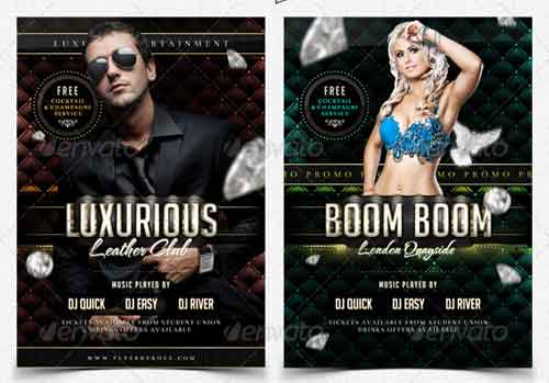 Luxury Nightclub Flyer Templates