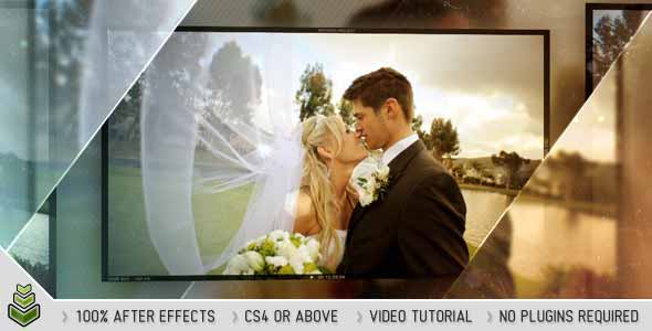 Glossy Wedding After Effects Template