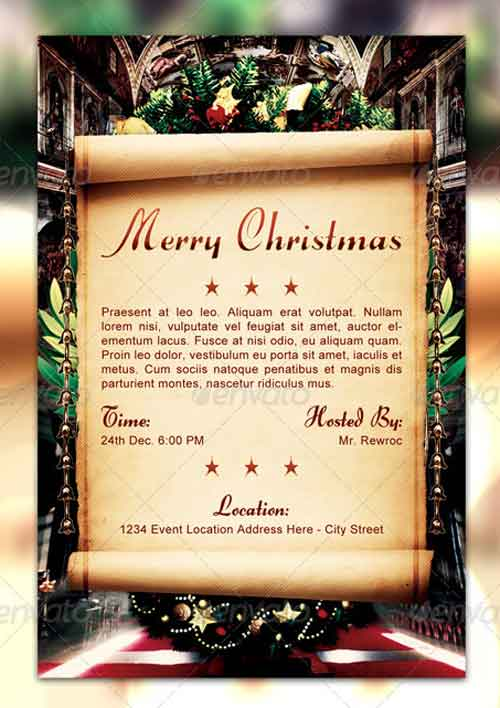 Peaceful Christmas Flyer